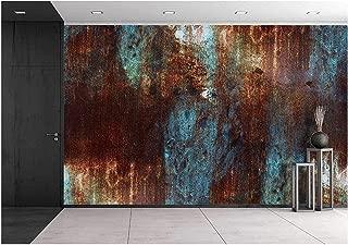 wall26 Abstract Wall Art - Removable Wall Mural   Self-Adhesive Large Wallpaper - 100x144 inches