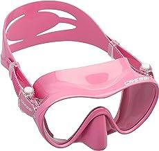 Cressi F1 Masker, frameloos masker voor duiken en snorkelen, maat L - S