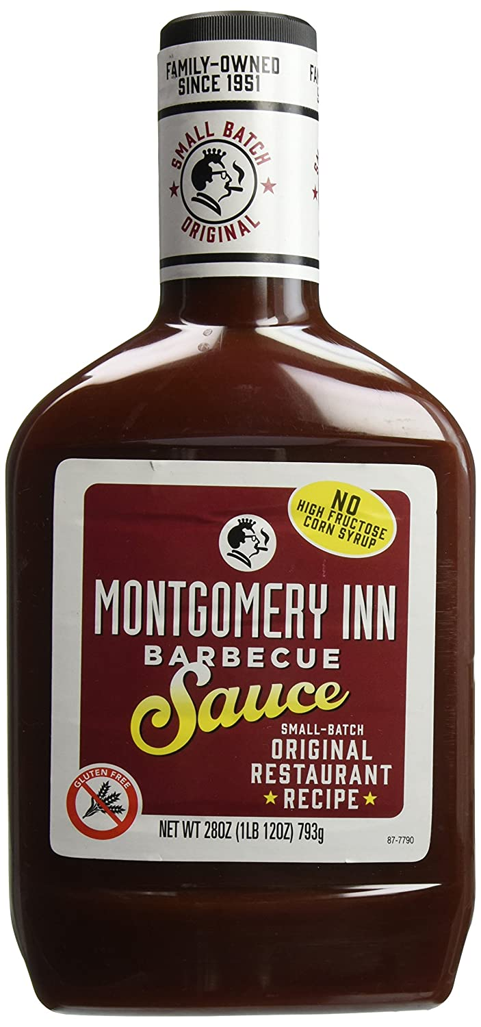 Max 86% OFF Montgomery Inn Barbecue Sauce 28 Pack oz wholesale of 6