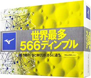 MIZUNO(ミズノ) ゴルフボール NEXDRIVE ネクスドライブ 1ダース(12個入り) 2ピース 5NJBM328