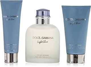 Dolce and Gabbana Light Blue Fragrance Set, 3 Count