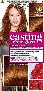 L'Oreal Paris Casting Creme Gloss 543Pearl Blonde Haircolor,180 ml