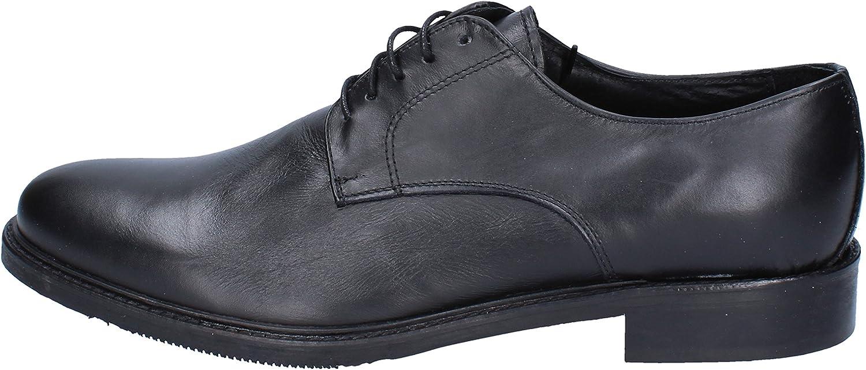 AZZURRA AZZURRA AZZURRA Elegante Schuhe Herren Leder schwarz  dacc66