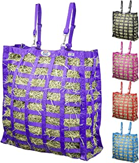Derby Originals Supreme Patented Four Sided Slow Feed Horse Hay Bag with One Year Warranty