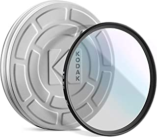 KODAK 49mm UV Filter Protective Ultraviolet Filter Absorbs Atmospheric Haze, Improves Sharpness & Shields Lens from Environmental Damage, Super Slim, Multi-Coated Nano Polished Glass & Mini Guide