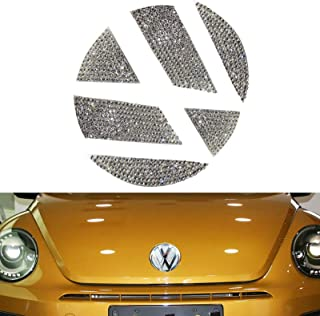 5cecace281b66 YaaGoo VW Outside Emblem Crystal Sticker for VW Beetles
