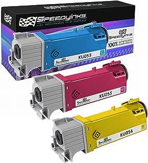 Speedy Inks - Compatible Dell 1320 1320C Set of 3 Color Toner Cartridges: Cyan KU053, Yellow KU054, and Magenta KU055