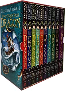How to Train your Dragon 12 Books Collection Set. (Dragon's Curse; Twist a Dragon's Tale; Dragon's Storm; Deadly Dragons; Break a Dragon's Heart; Steal a Dragon's Sword; Seize a Dragon's Jewel & [Hardcover] The InComplete book of Dragons..etc