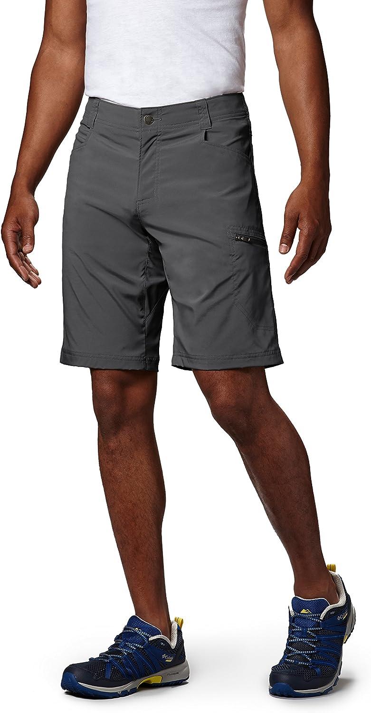 Columbia Men's Silver Ridge Stretch Shorts, Grill, 36 x 8