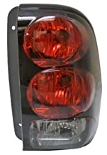 Chevy Trailblazer 02-09 Right Taillamp Rear Brake Taillight Lens & Housing by Aftermarket Replacement