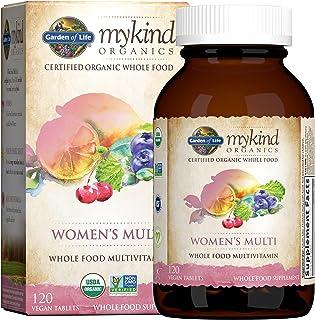 Organic Multivitamin for Women by Garden of Life, mykind Organics Womens Multi with Vitamin C, D,...