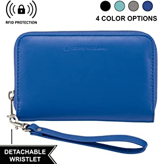 Lewis N. Clark Shetravels RFID-Blocking Wristlet, Royal Blue (Blue) - 7042-ROY