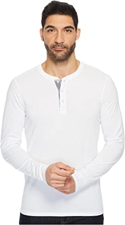 AG Adriano Goldschmied - Clyde Long Sleeve Henley