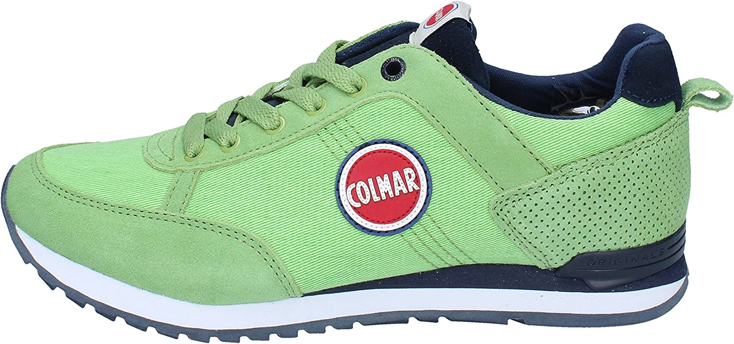 Colmar Fashion-Sneakers Mens Suede Green