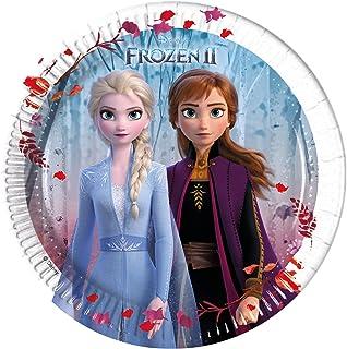 Procos Frozen 2 Paper Plate, 20 cm, 91126