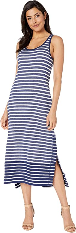 Villa Lines Sleeveless Midi Dress