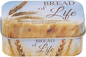 Christian Art Gifts Bible Verse Promise Cards | Bread of Life – 202 Scriptures to Nourish Your Soul | Daily Encouraging Po...