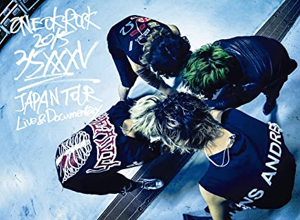 """ONE OK ROCK 2015 """"35xxxv"""" JAPAN TOUR LIVE & DOCUMENTARY [DVD]"""