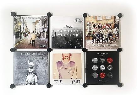 Q: Vinyl Accessories Record Wall Mounts, Black