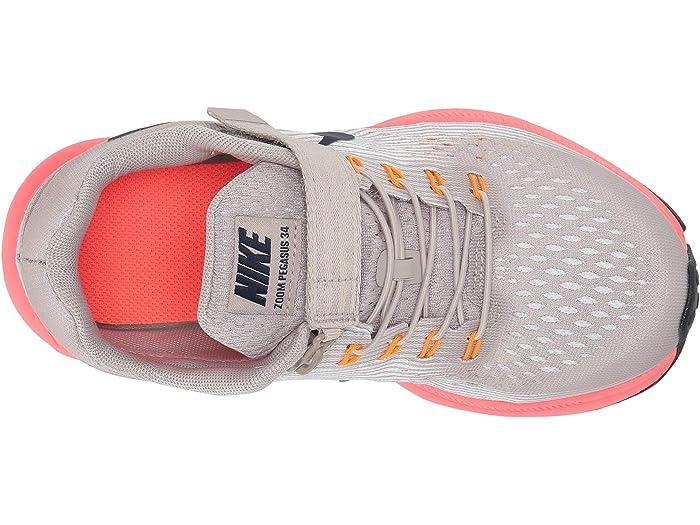 Nike Kids FlyEase Zoom Pegasus 34 WIDE
