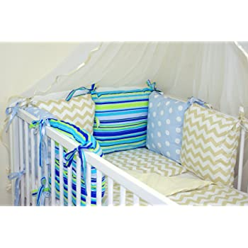 COTBED with PILLOW BUMPER NEW 12 PCS BABY BEDDING SET FOR COT to fit cot with mattress size 120x60cm, 1 27 COLOURS