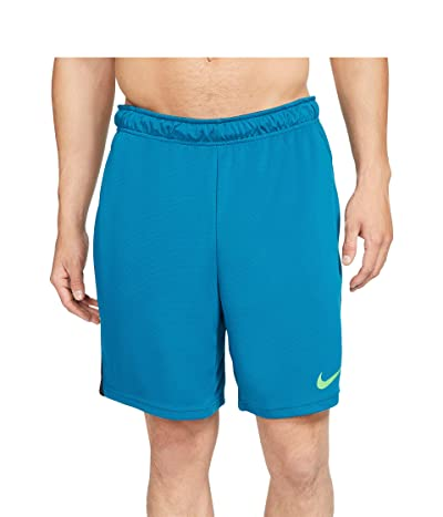 Nike Dry-FIT Knit Short 5.0 (Green Abyss/Black/Mean Green) Men