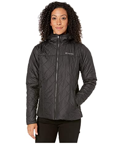 Columbia Copper Cresttm Hooded Jacket (Black) Women