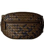 Bottega Veneta - Intrecciato Tartan Belt Bag