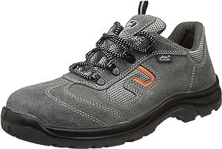 Allen Cooper AC-1459 Safety Shoe, Double Density DIP-PU Sole, Grey, Size 9