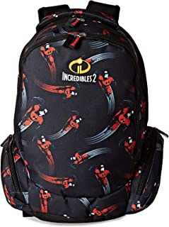The Incredibles School Backpack for Boys - Black