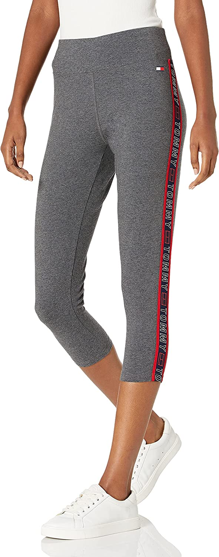 Tommy Hilfiger Women's High Rise Performance Capri Legging