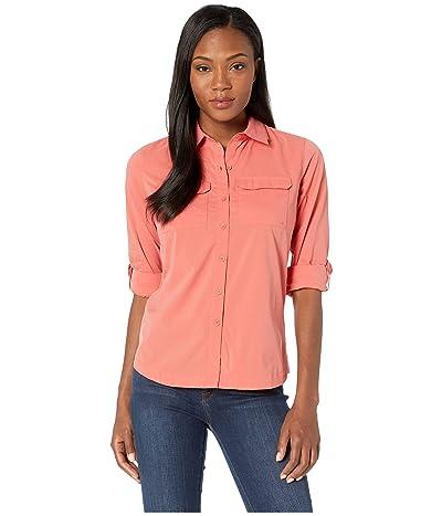 ExOfficio Missoula Long Sleeve Shirt (Spiced Coral) Women