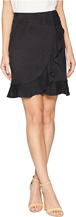Stretch Suede Skirt KS8K6283