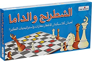 Creative's Board & Card Games 6 Years & Above,Multi color