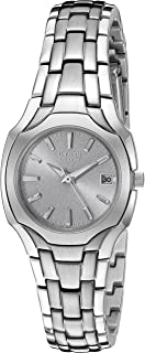 Women's Eco-Drive Stainless Steel Watch with Date, EW1250-54A