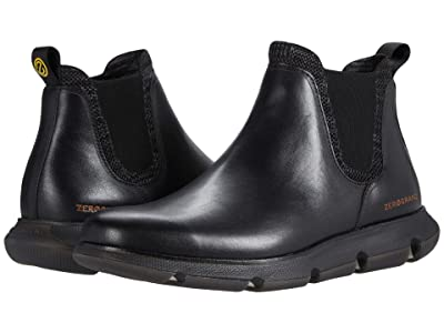 Cole Haan 4.Zerogrand Chelsea Wp (Black Waterproof/Lambswool 1) Men