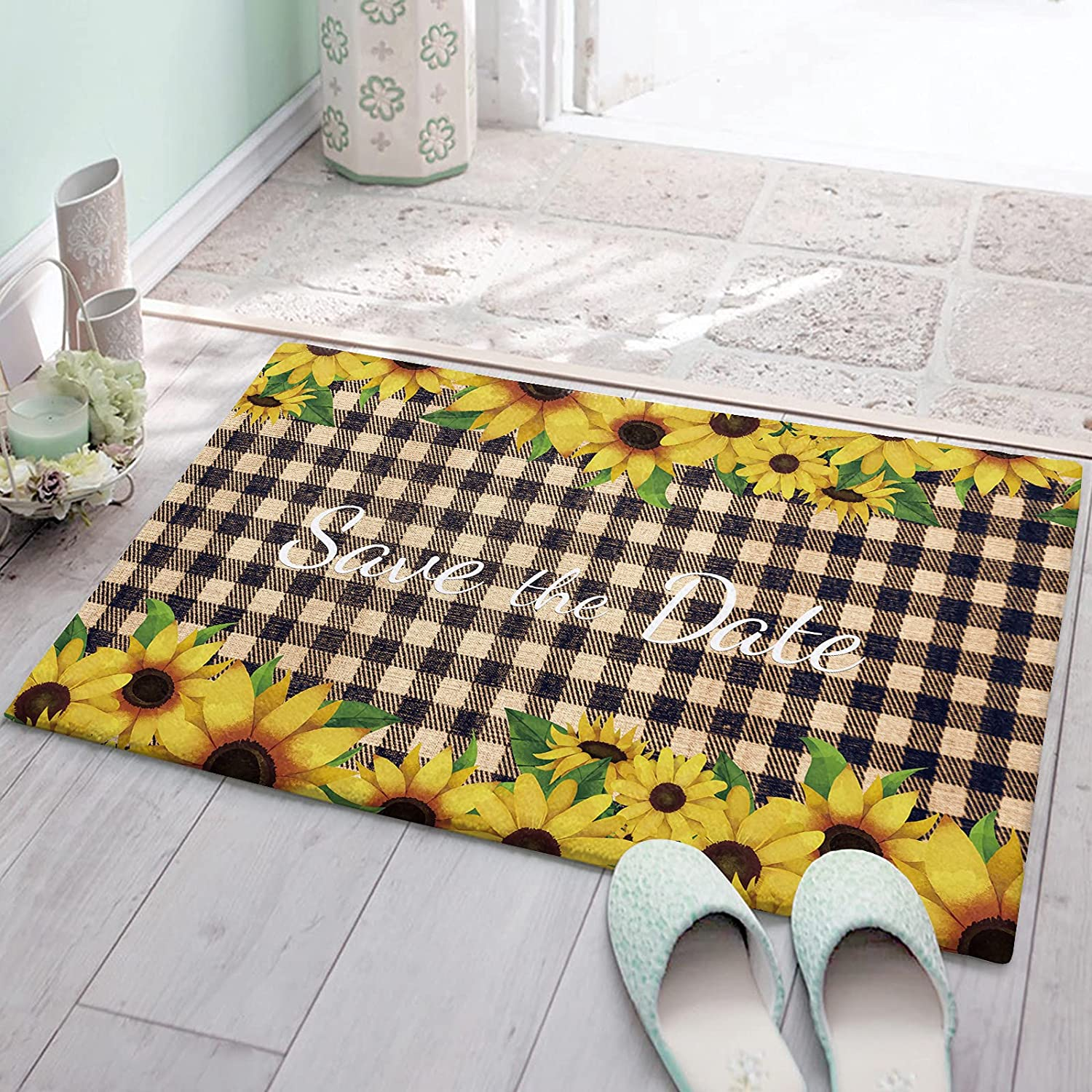 CozyPlushDoormats Challenge the lowest price of Japan Max 82% OFF 20x32in AbsorbentCushionedKitchenMatAre