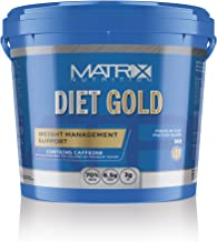 Matrix Nutrition Diet Gold High Protein Powder Shake Low Saturated Fat Low Sugar Sports Training Weight Loss Supporting Shake 70 Body Fat Reducing Muscle Growing Body Recovery Drink 5KG Tub Estimated Price : £ 42,99
