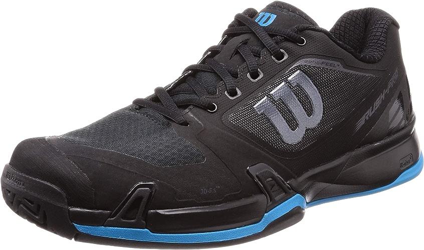 Wilson Rush Pro 2.5 Tennis chaussures Mens - noir Hawaiian bleu - 9 D(M) US