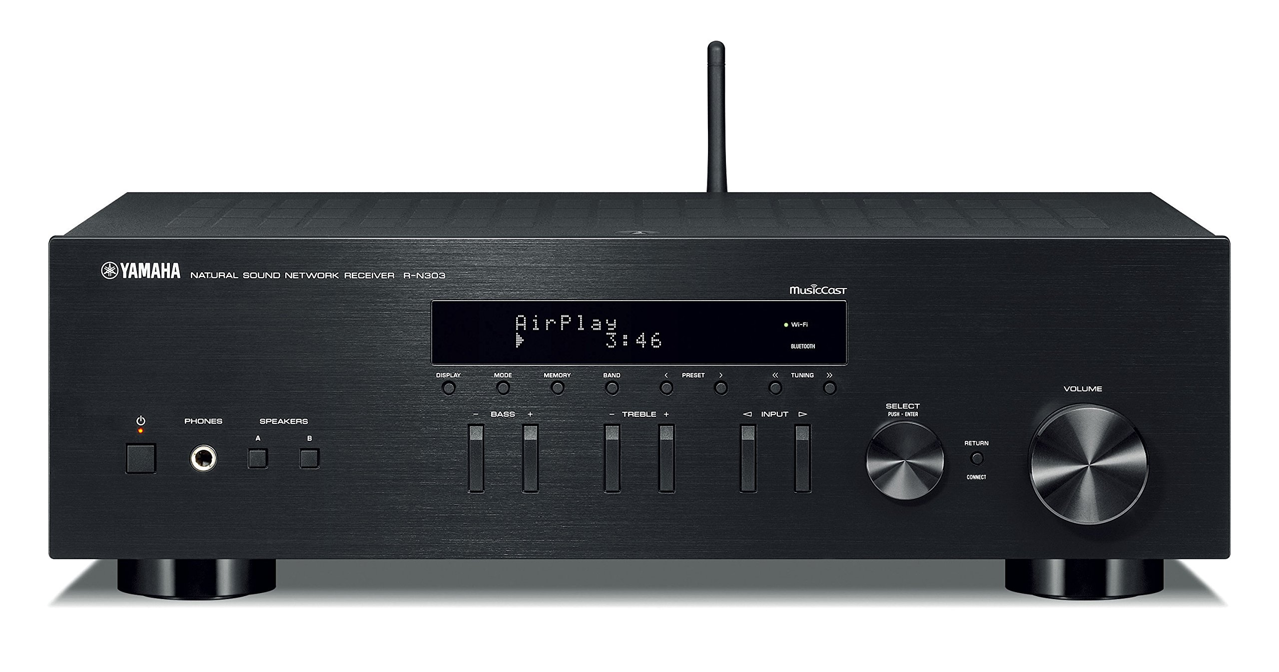 Yamaha R N303BL Stereo Receiver Bluetooth