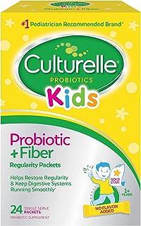 مکمل رژیم غذایی پروبیوتیک و فیبر منظم کودکان منظم | به بازیابی منظم و حفظ هضم صاف کمک می کند به طور طبیعی با بدن کودک کار می کند | 24 بسته منفرد