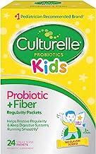 Culturelle Kids Regularity Probiotic & Fiber Dietary Supplement | Helps Restore Regularity & Keeps Kids' Digestive Systems...