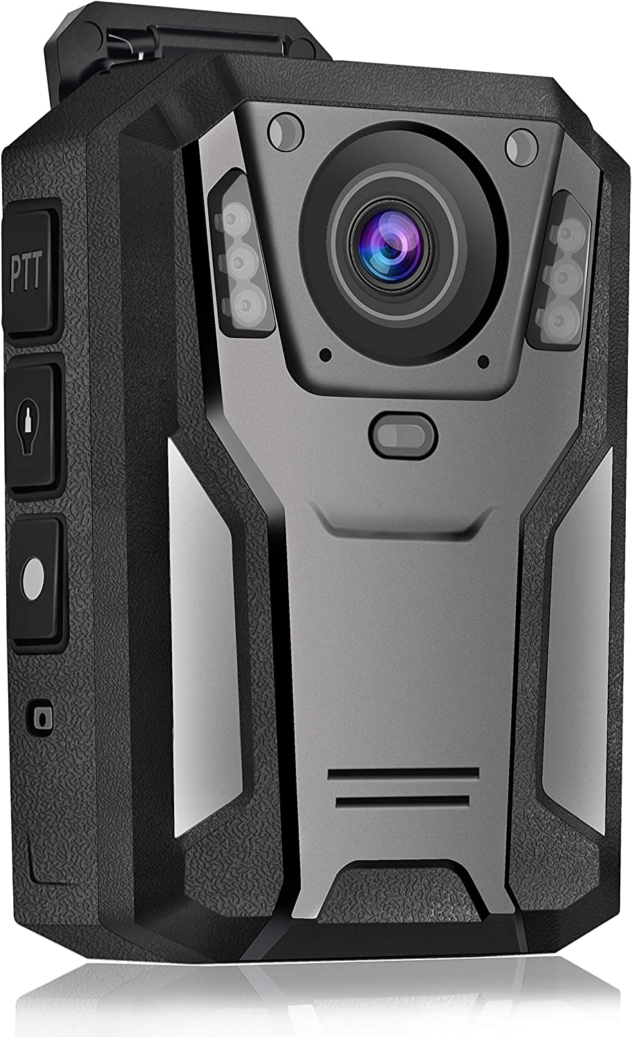 """Aolbea 1440P UHD Police Body Camera Built-in 64GB Record Video Audio Picture 2.0"""" LCD Infrared Night Vision,3300 mAh Battery Waterproof Shockproof Lightweight Data-encrypt for Law Enforcement Record"""