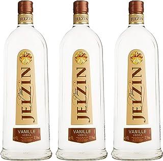 Jelzin Vodka Vanille 3 x 1 l
