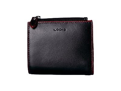 Lodis Accessories Audrey RFID Aldis Wallet (Black) Wallet Handbags