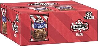 T.G.I. Friday's Cheddar & Bacon Potato Skins Snack Chips - 1 oz. - 100 ct.