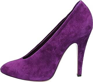 Pumps-Shoes Womens Suede Purple