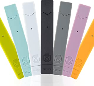 Majide Ultra Thin JUUL Vapor Case with 3-in-1 Protection Technology and Hybrid Drop Protection - Never Lose Your JUUL Again! - Pink