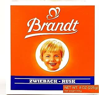 Brandt Zwieback 8 oz each (2 Items Per Order)