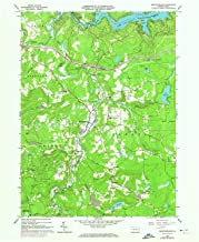 YellowMaps Newfoundland PA topo map, 1:24000 Scale, 7.5 X 7.5 Minute, Historical, 1966, Updated 1974, 26.9 x 22.1 in